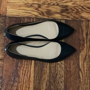 Barely Worn Black Banana Republic Pointed Flats